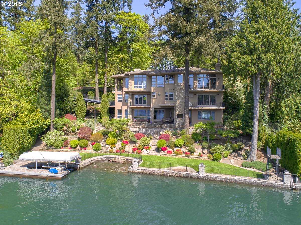 $5,495,000 - 5Br/5Ba -  for Sale in Main Lake, Lake Oswego