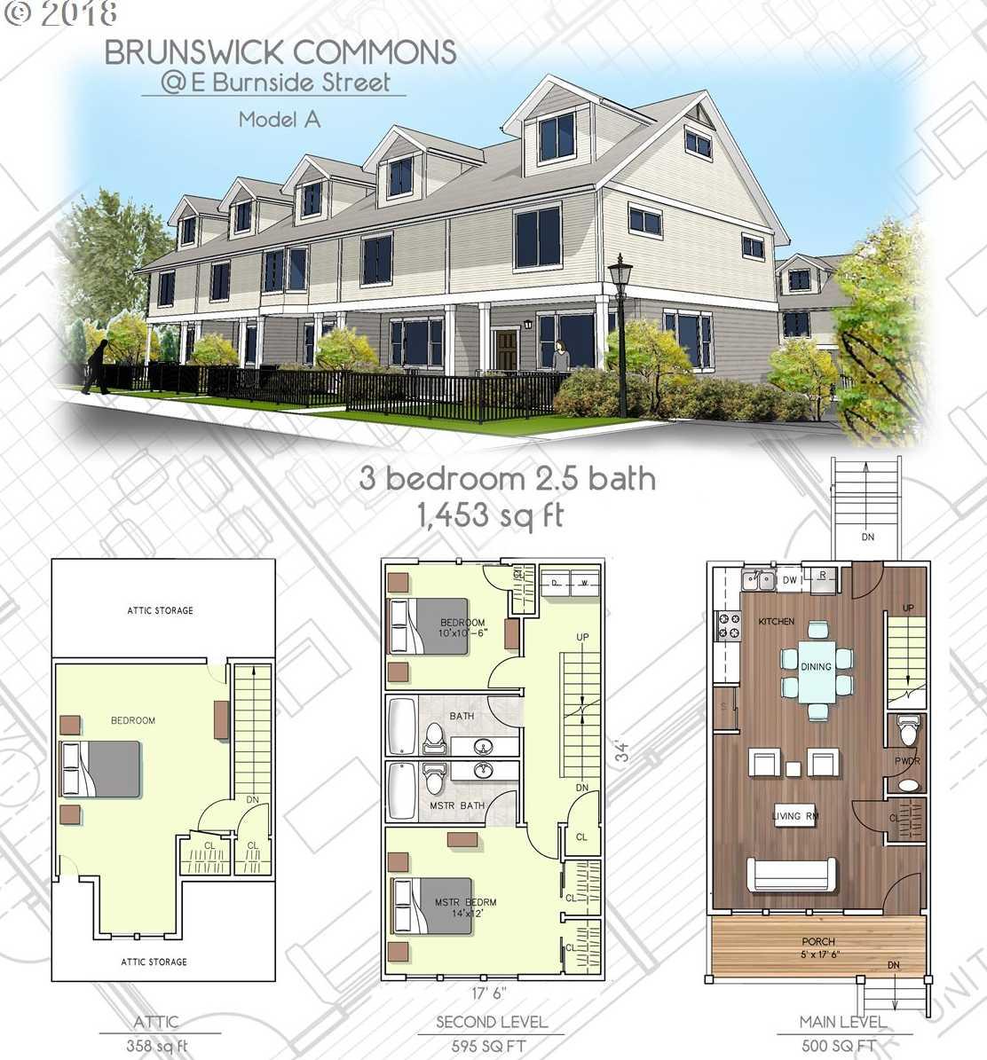 $315,000 - 3Br/3Ba -  for Sale in Brunswick Commons, Portland