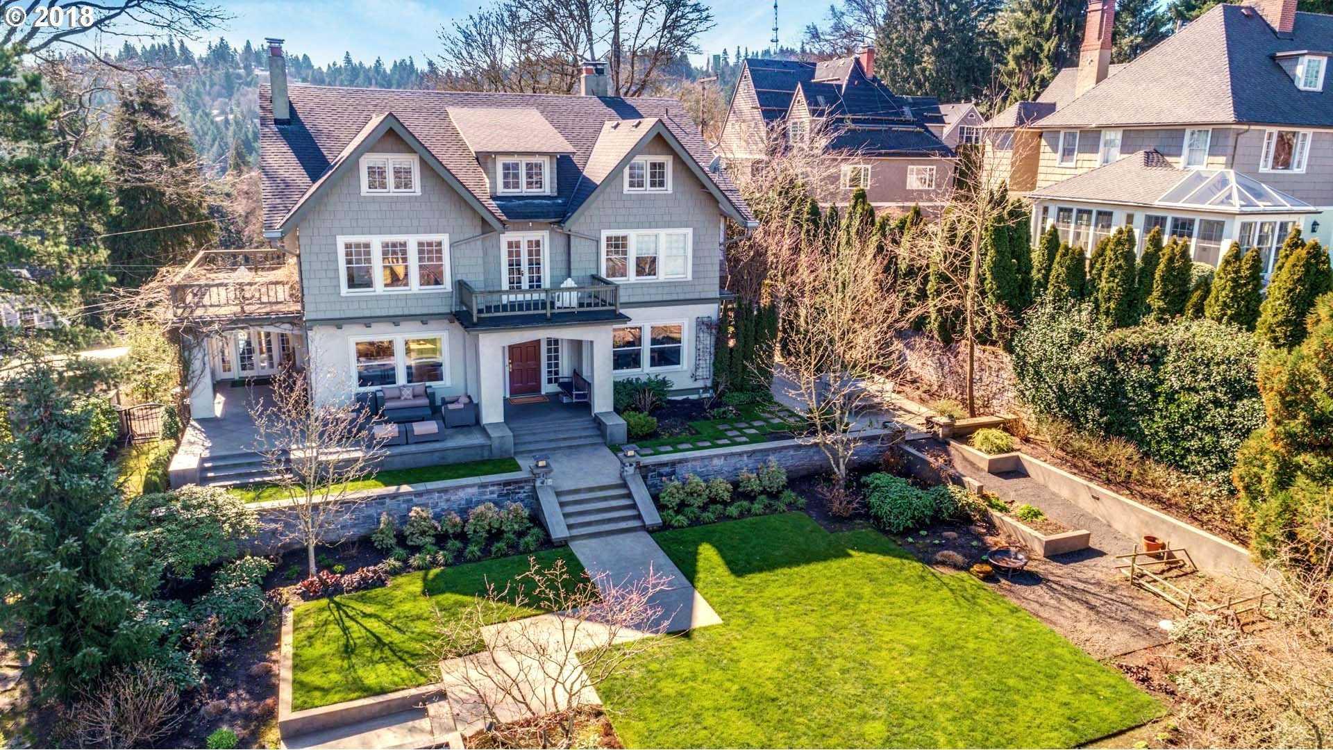 $2,250,100 - 5Br/4Ba -  for Sale in Southwest Hills, Portland