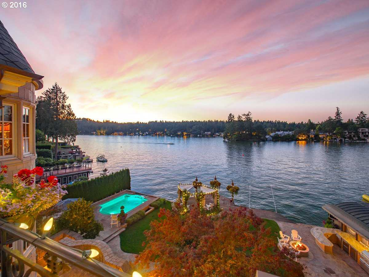 $5,985,000 - 5Br/7Ba -  for Sale in Main Lake Waterfront, Lake Oswego
