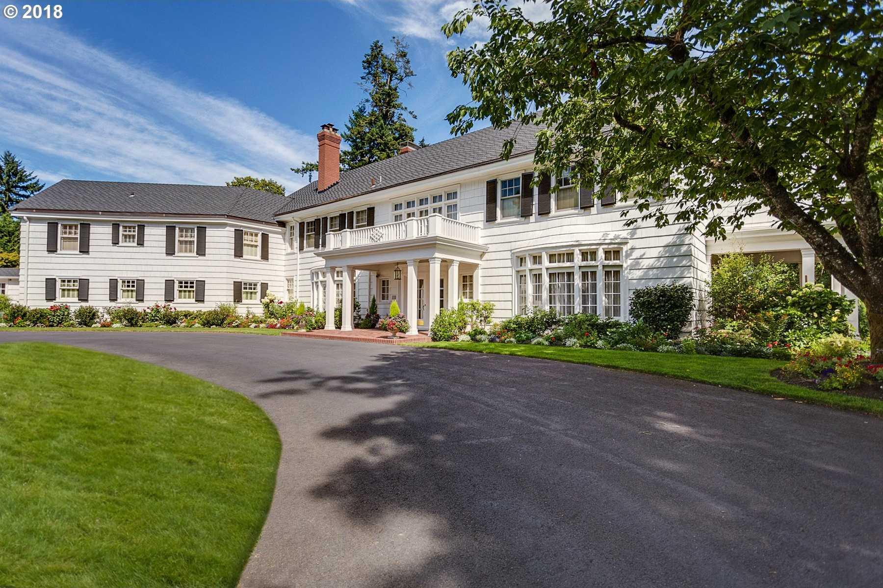 $4,495,000 - 4Br/6Ba -  for Sale in Dunthorpe/riverdale, Portland