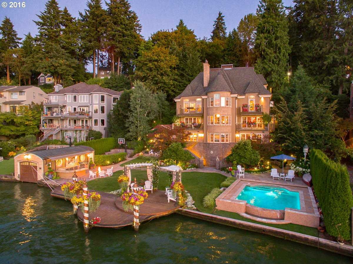 $5,295,000 - 5Br/7Ba -  for Sale in Main Lake Waterfront, Lake Oswego