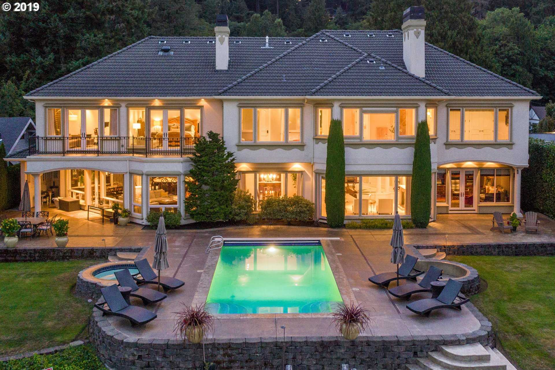 $3,500,000 - 6Br/7Ba -  for Sale in Willamette River Front, Lake Oswego