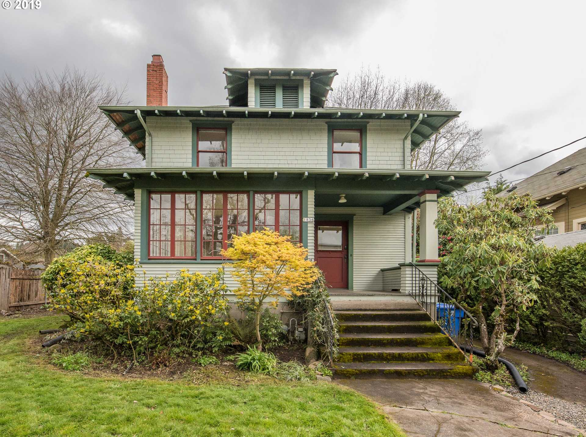 $649,000 - 4Br/2Ba -  for Sale in Mt Tabor, Portland