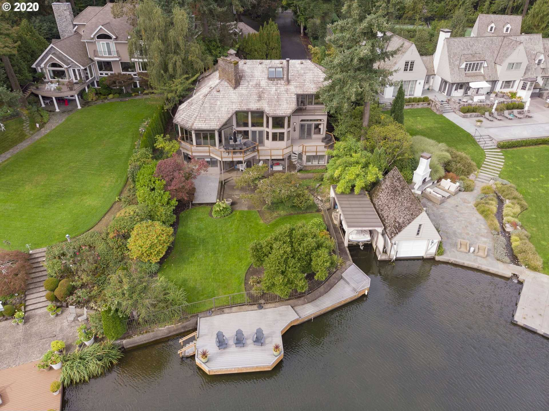 $3,100,000 - 5Br/6Ba -  for Sale in Main Lake, Lake Oswego