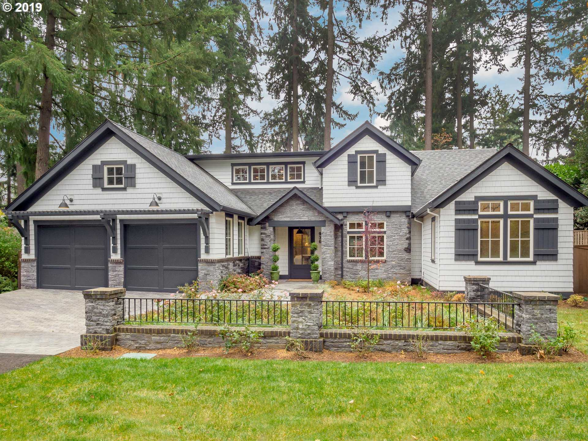 $2,195,000 - 4Br/4Ba -  for Sale in Evergreen Downtown Lake Oswego, Lake Oswego