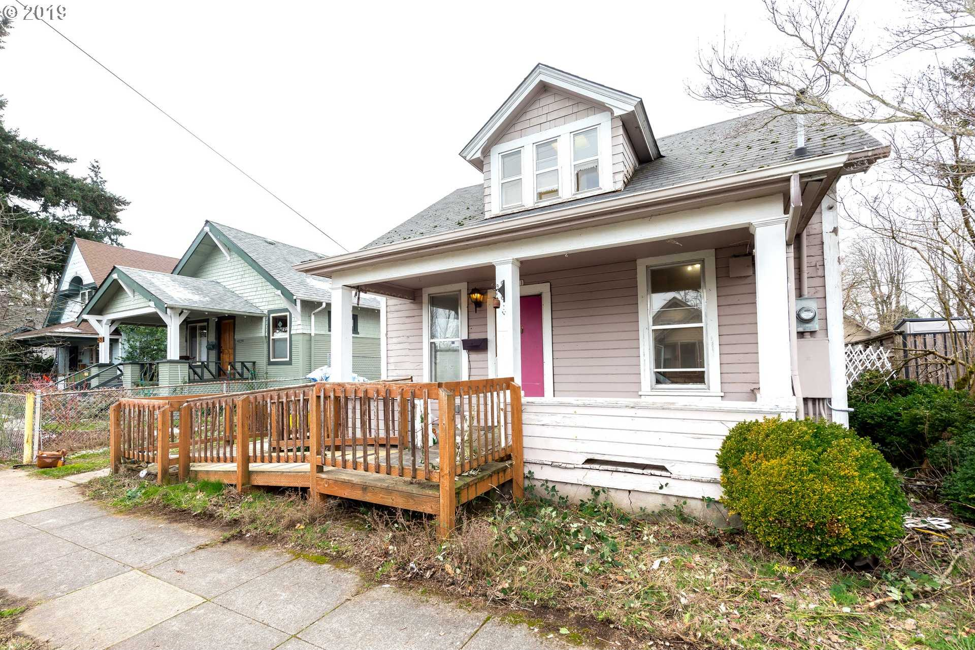 $279,000 - 4Br/1Ba -  for Sale in Foster - Powell, Portland