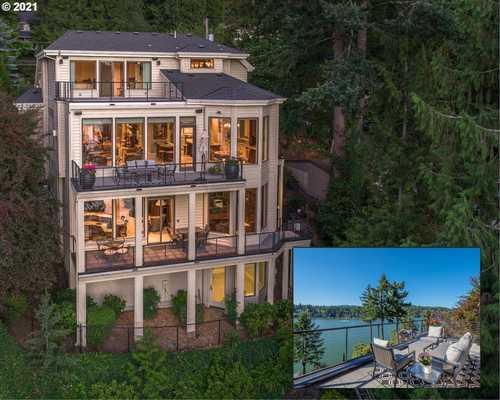 $3,195,000 - 3Br/5Ba -  for Sale in Main Lake Oswego, Lake Oswego