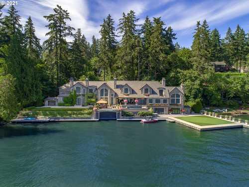 $11,500,000 - 5Br/9Ba -  for Sale in Main Oswego Lake, Lake Oswego