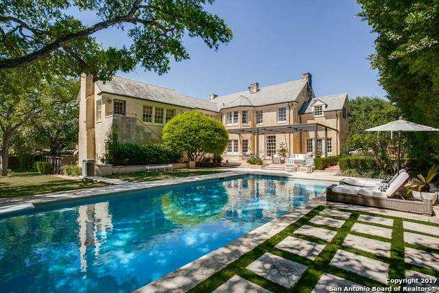 $1,975,000 - 5Br/6Ba -  for Sale in Monte Vista, San Antonio