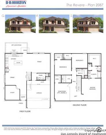 $254,442 - 3Br/3Ba -  for Sale in Riverstone At Alamo Ranch, San Antonio