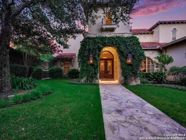 $2,879,000 - 5Br/6Ba -  for Sale in Terrell Hills, San Antonio