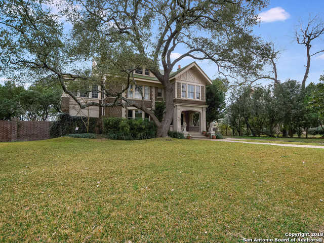 $1,899,000 - 4Br/7Ba -  for Sale in Monte Vista, San Antonio