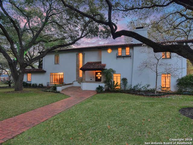 $2,999,995 - 6Br/6Ba -  for Sale in Olmos Park, San Antonio