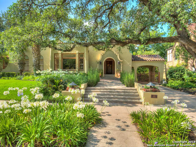 $1,700,000 - 6Br/5Ba -  for Sale in Monte Vista, San Antonio
