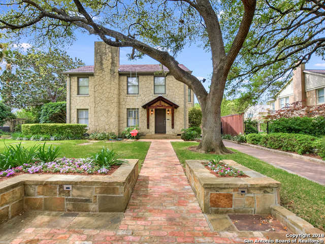 $875,000 - 3Br/3Ba -  for Sale in Olmos Park, San Antonio