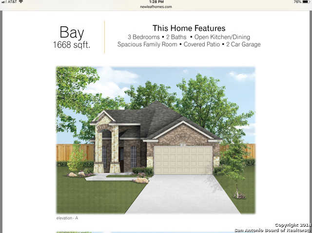 $220,500 - 3Br/2Ba -  for Sale in Bricewood, Helotes
