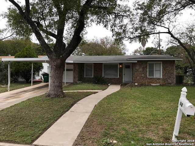 $129,900 - 3Br/1Ba -  for Sale in North Alamo Heights, San Antonio