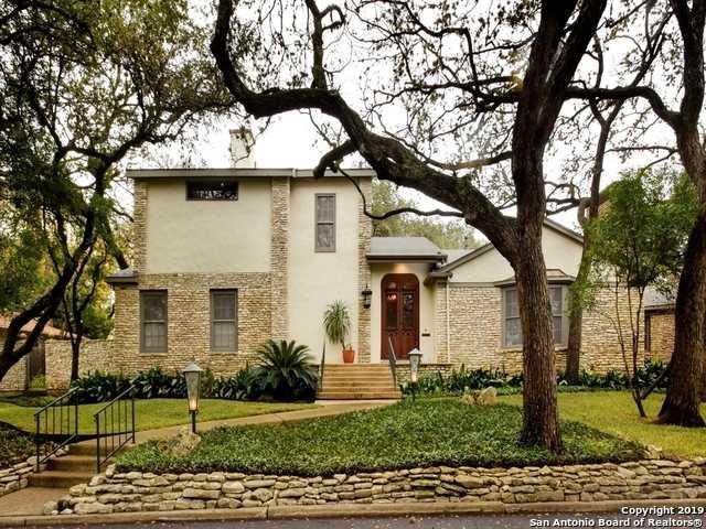 $1,190,000 - 3Br/4Ba -  for Sale in Alamo Heights, Alamo Heights