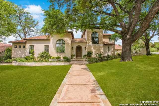 $1,895,000 - 5Br/5Ba -  for Sale in Terrell Hills, San Antonio