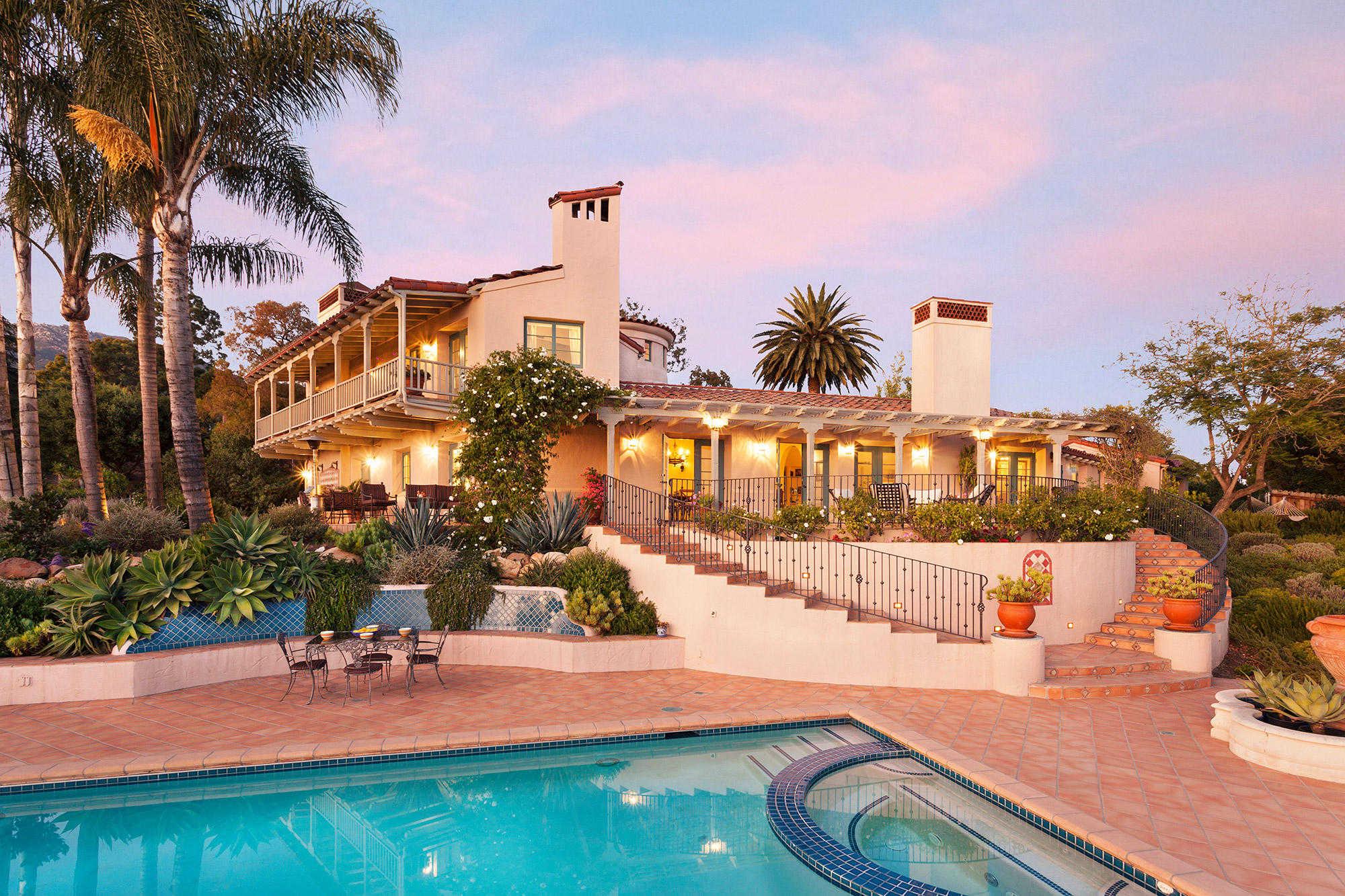 $3,350,000 - 4Br/4Ba -  for Sale in 15 - Las Canoas/el Cielito, Santa Barbara