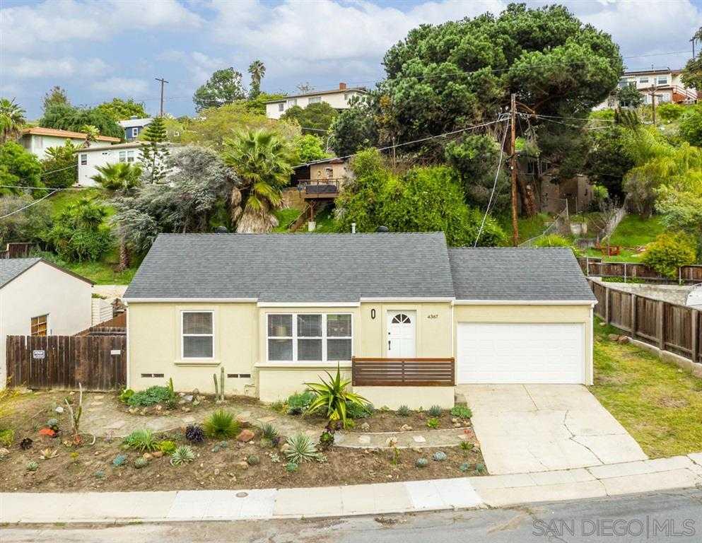 4367 Revillo San Diego, CA 92115