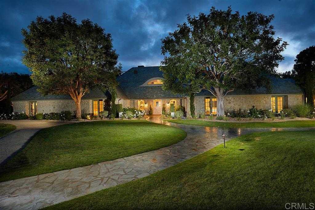 $10,499,900 - 6Br/7Ba -  for Sale in Del Mar Country Club, Rancho Santa Fe