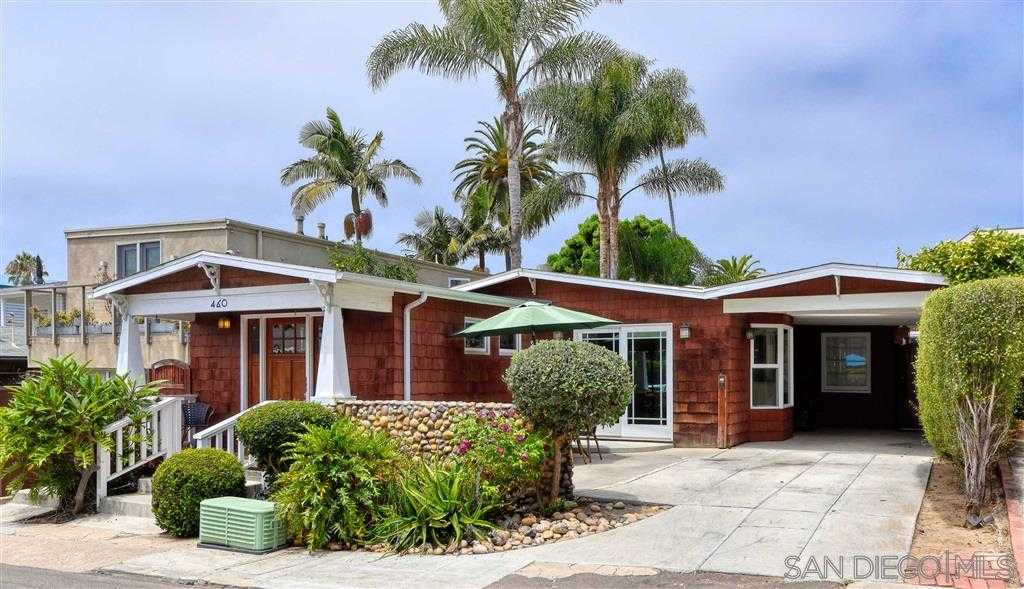 $1,698,000 - 2Br/1Ba -  for Sale in Beach Barber Tract, La Jolla