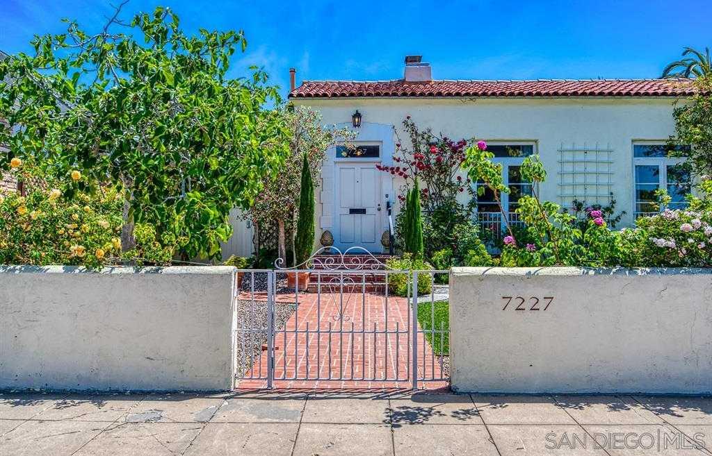 $2,695,000 - 3Br/3Ba -  for Sale in Barber Tract, La Jolla