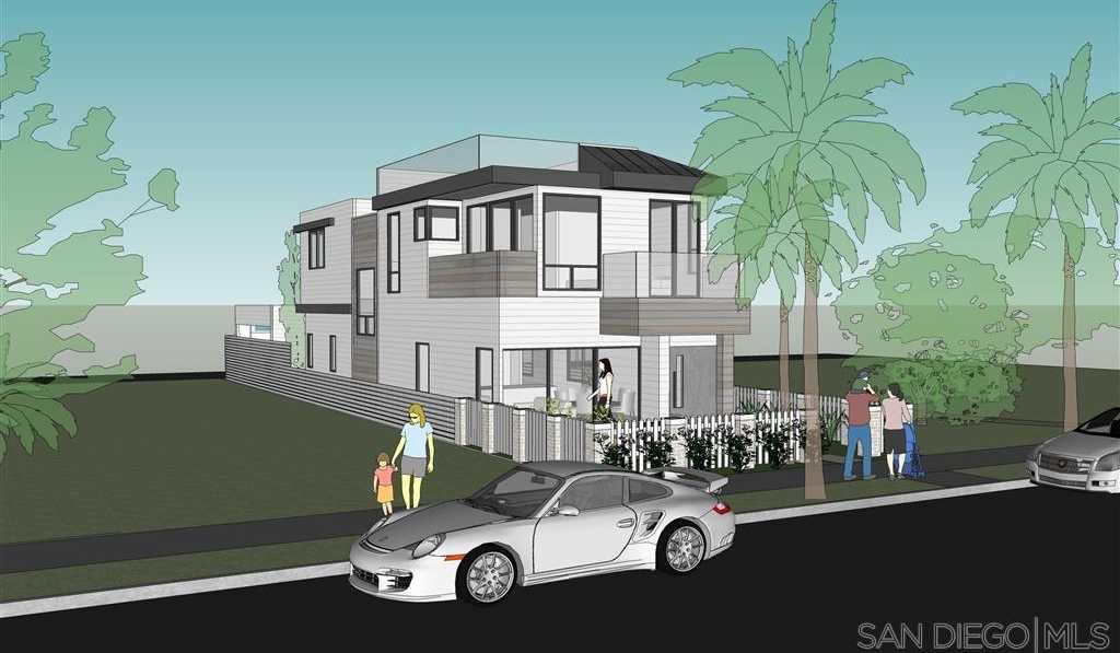 $1,750,000 - 3Br/3Ba -  for Sale in Beach Barber Tract, La Jolla
