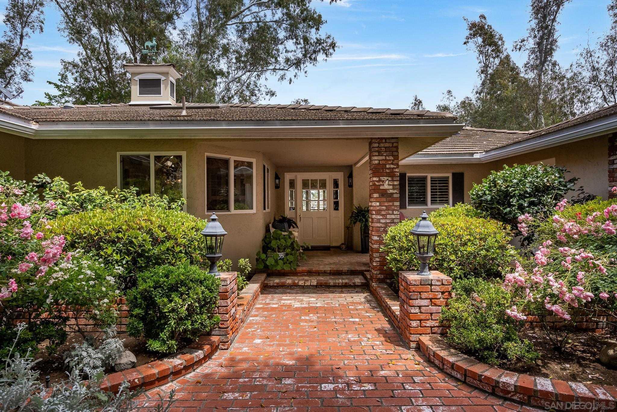 $3,950,000 - 4Br/3Ba -  for Sale in Rancho Del Rio, Rancho Santa Fe