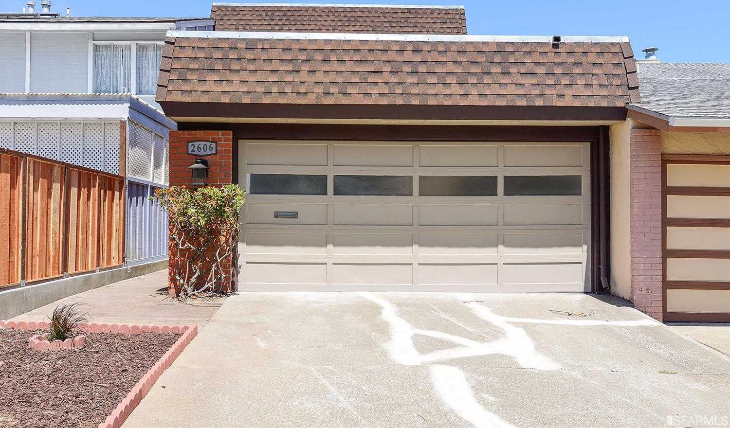 2606 Tyrone Ct South San Francisco, CA 94080
