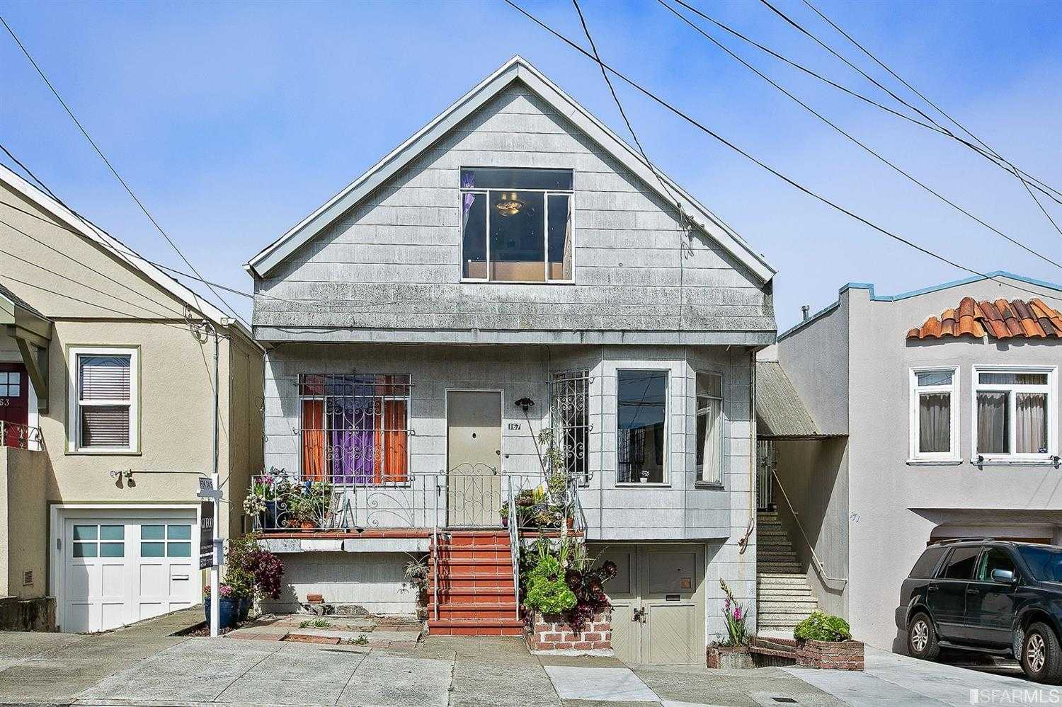 167 Miramar Ave San Francisco, CA 94112