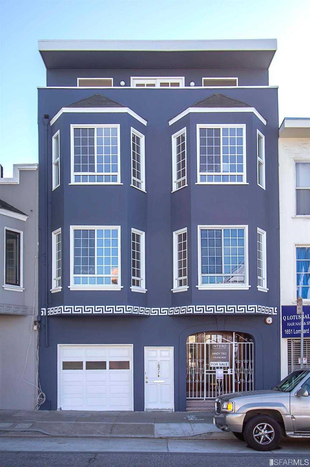 $2,750,000 - 3Br/3Ba -  for Sale in San Francisco