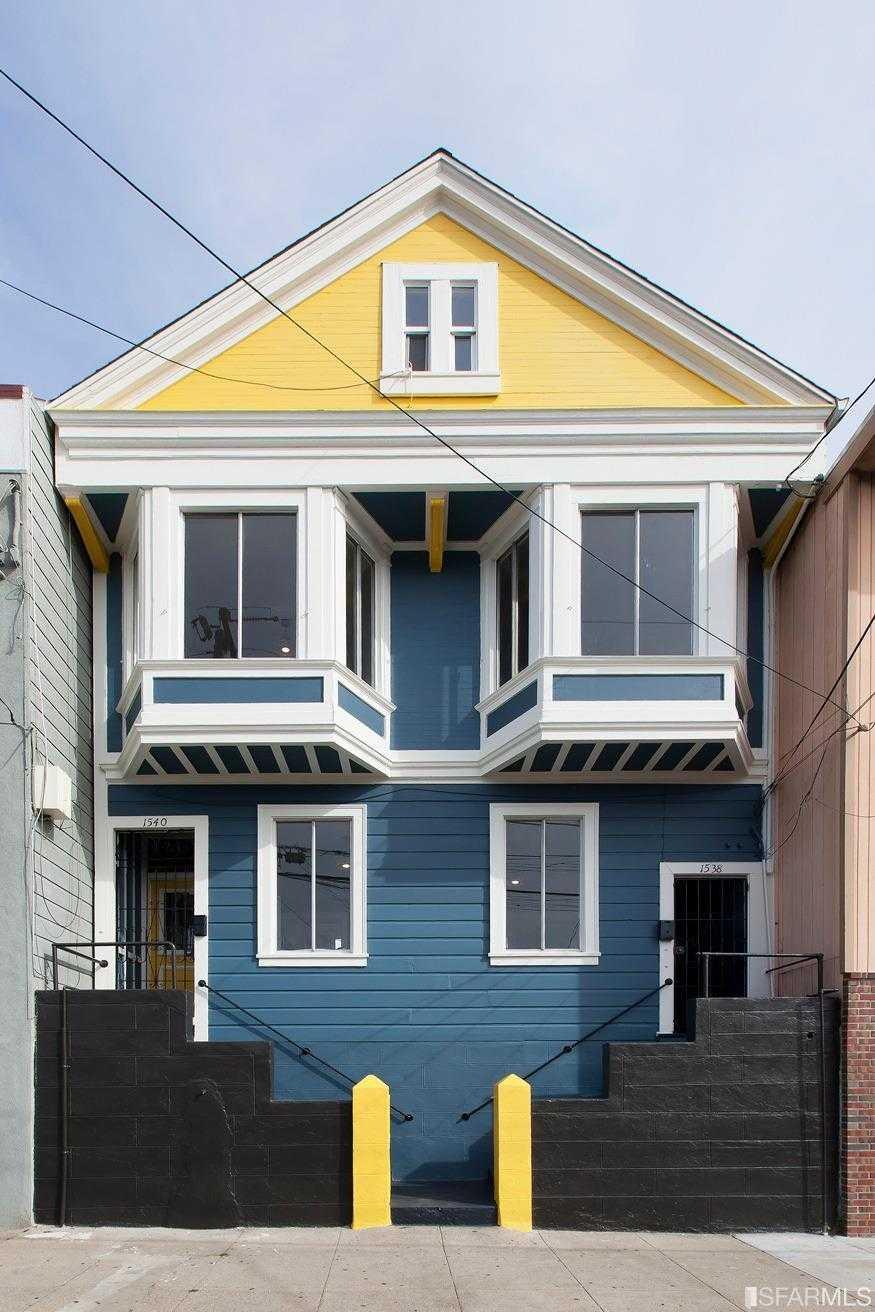 1538 1540 Shafter Avenue San Francisco, CA 94124