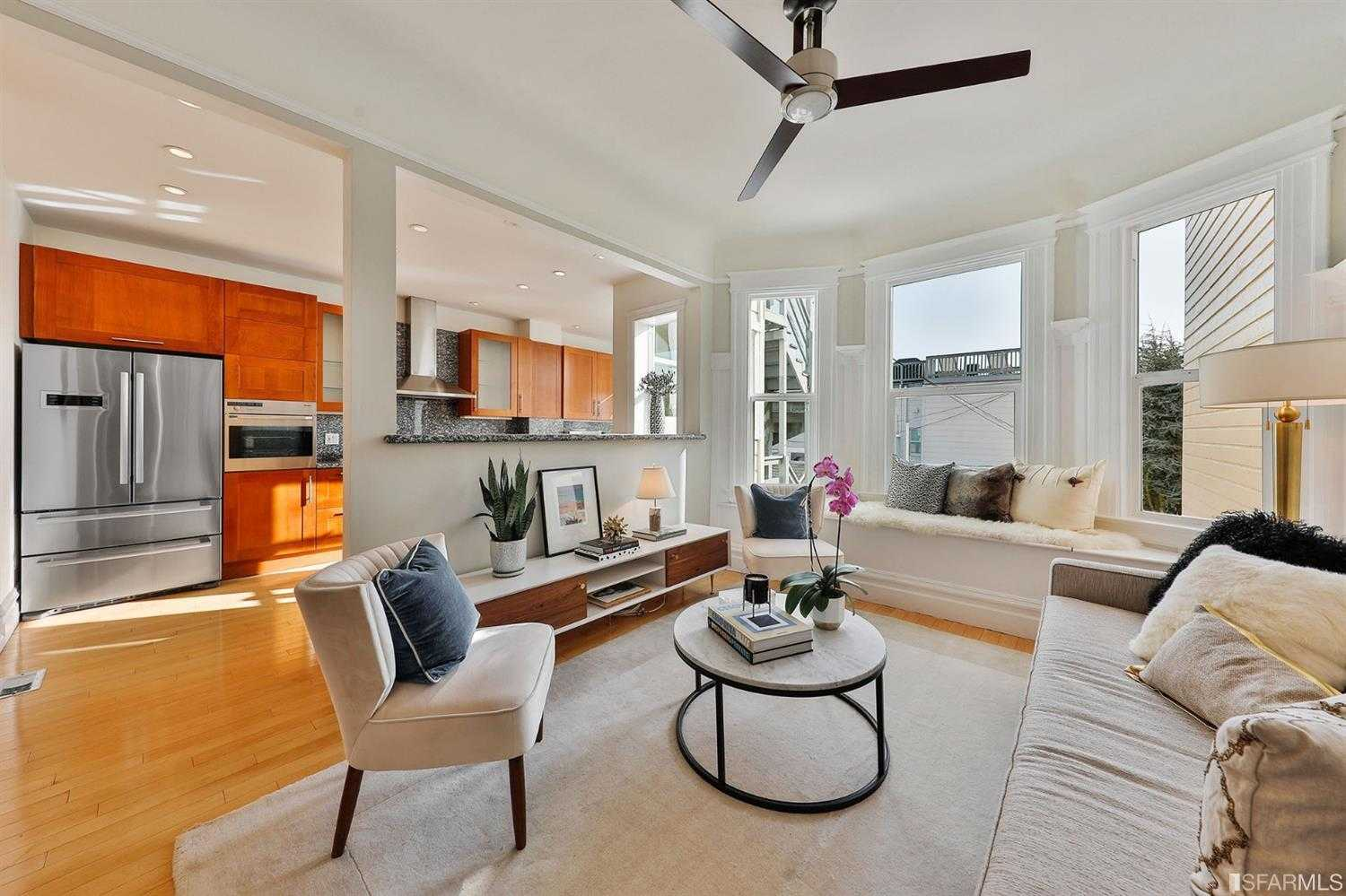 $1,550,000 - 3Br/2Ba -  for Sale in San Francisco