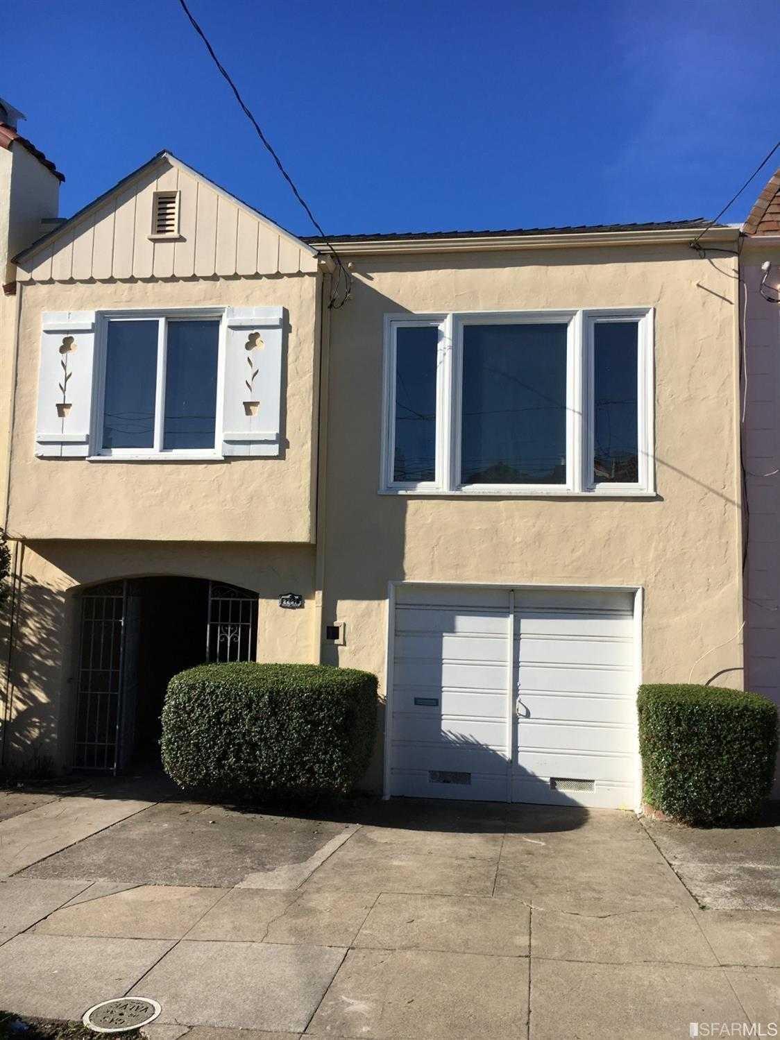 $1,394,900 - 4Br/2Ba -  for Sale in San Francisco