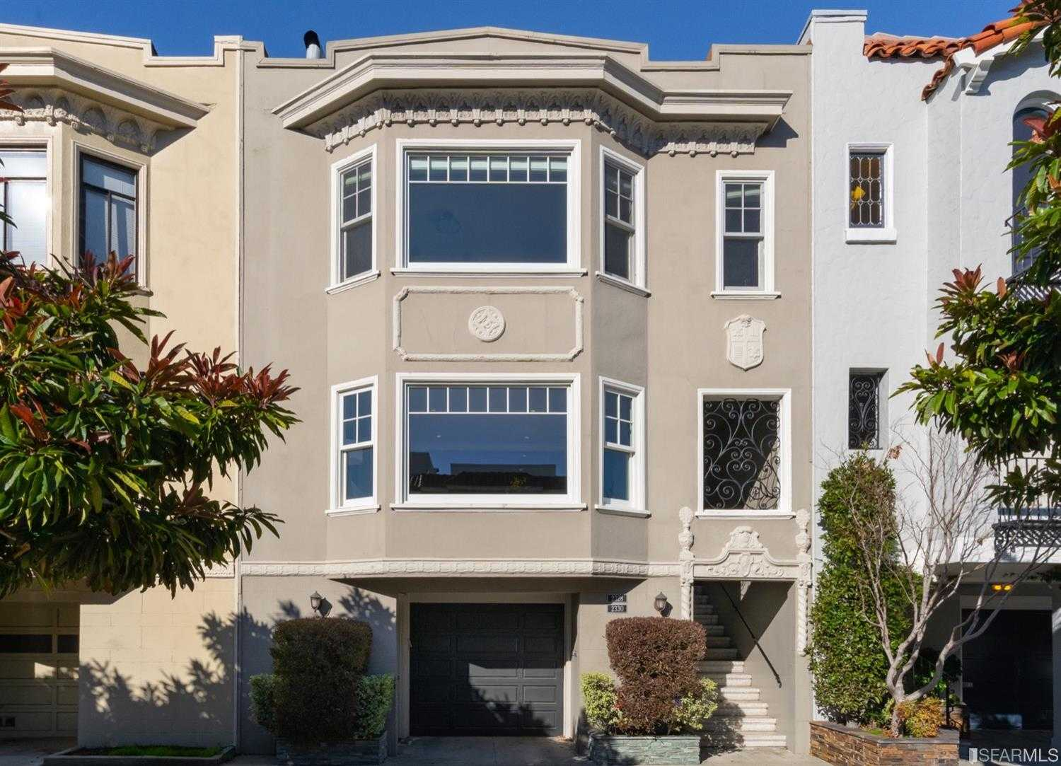 $2,950,000 - 3Br/3Ba -  for Sale in San Francisco
