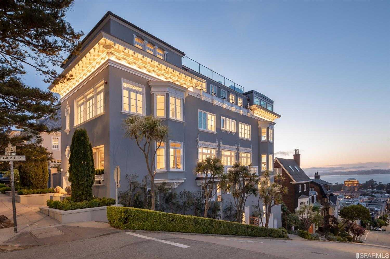 $29,000,000 - 6Br/9Ba -  for Sale in San Francisco
