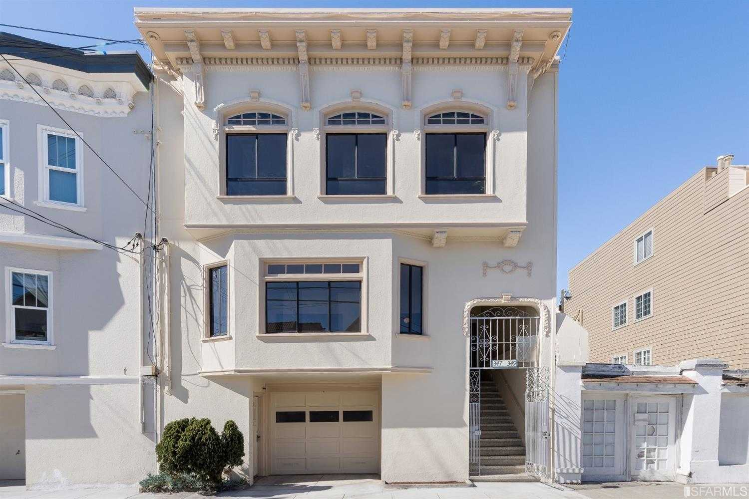 347 349 28th Avenue San Francisco, CA 94121