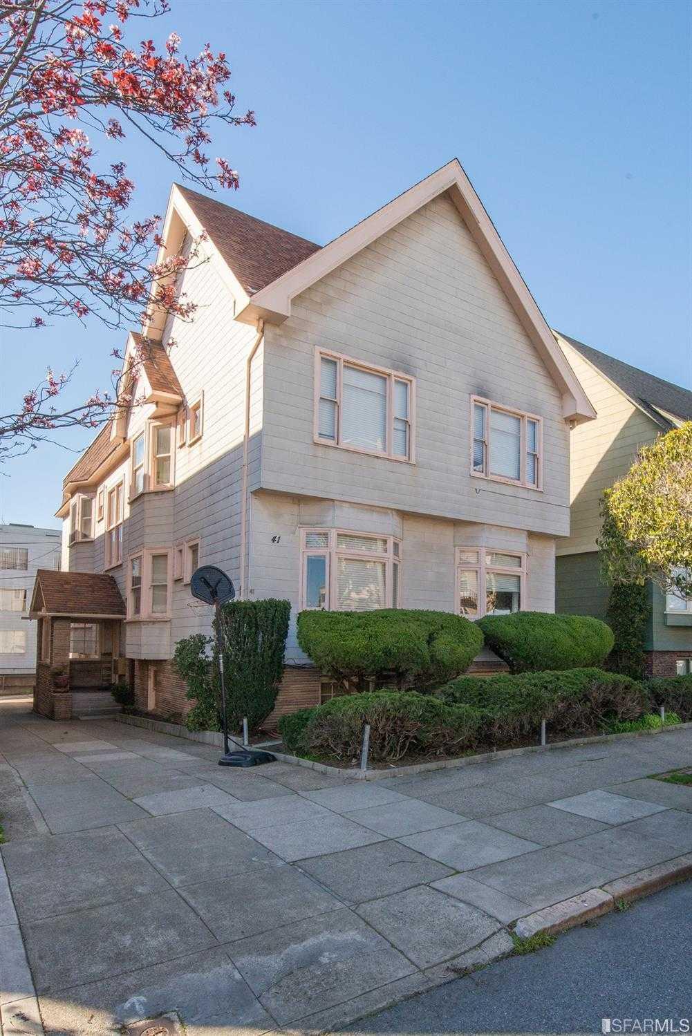 41 Palm Avenue San Francisco, CA 94118