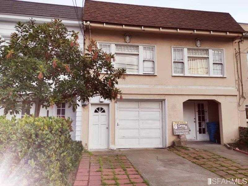 $1,050,000 - 4Br/3Ba -  for Sale in San Francisco