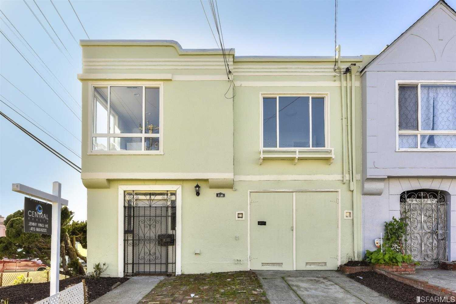 $1,249,000 - 5Br/5Ba -  for Sale in San Francisco