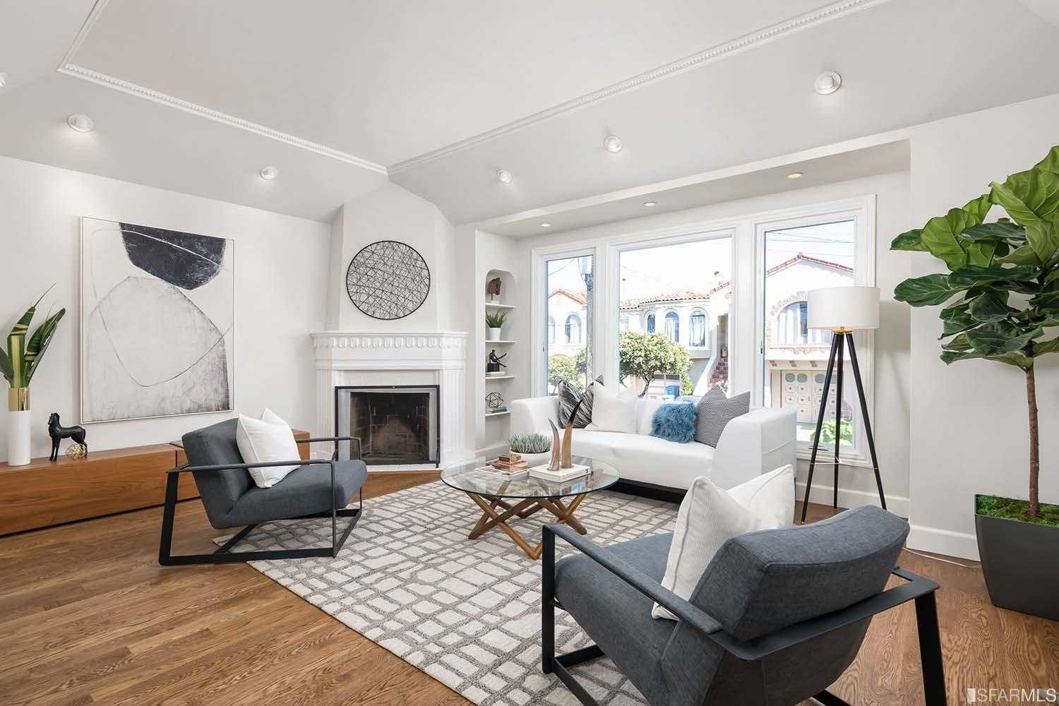 $1,695,000 - 4Br/3Ba -  for Sale in San Francisco