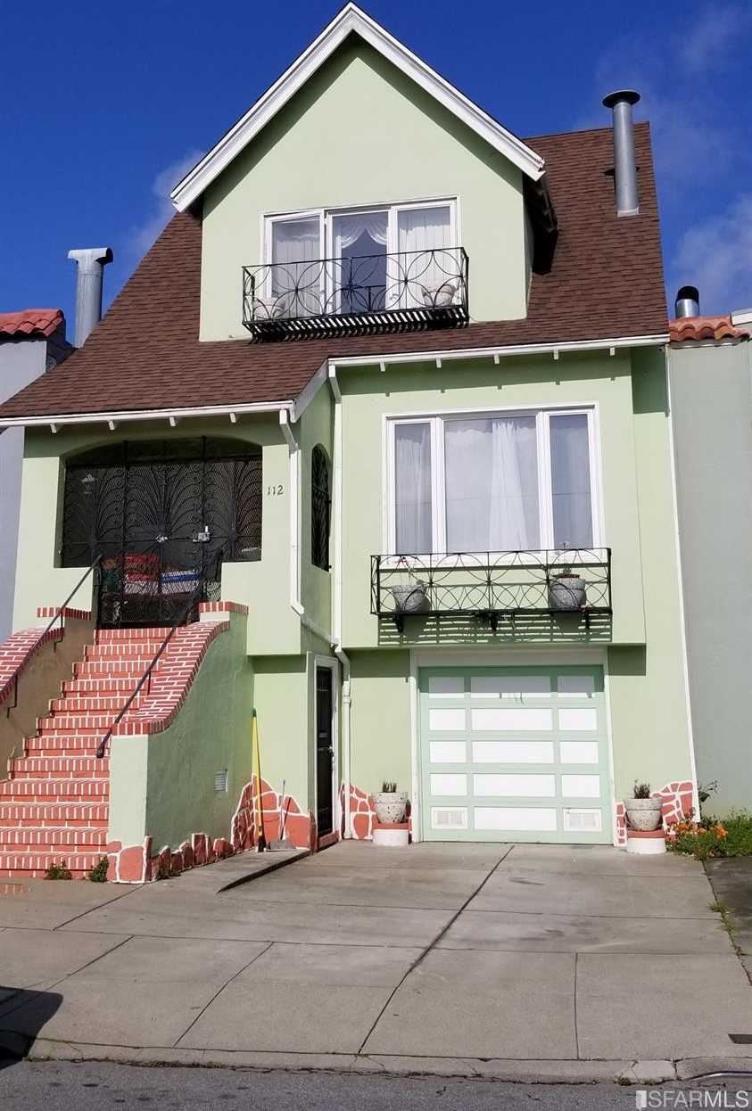 112 Delano Ave San Francisco, CA 94112