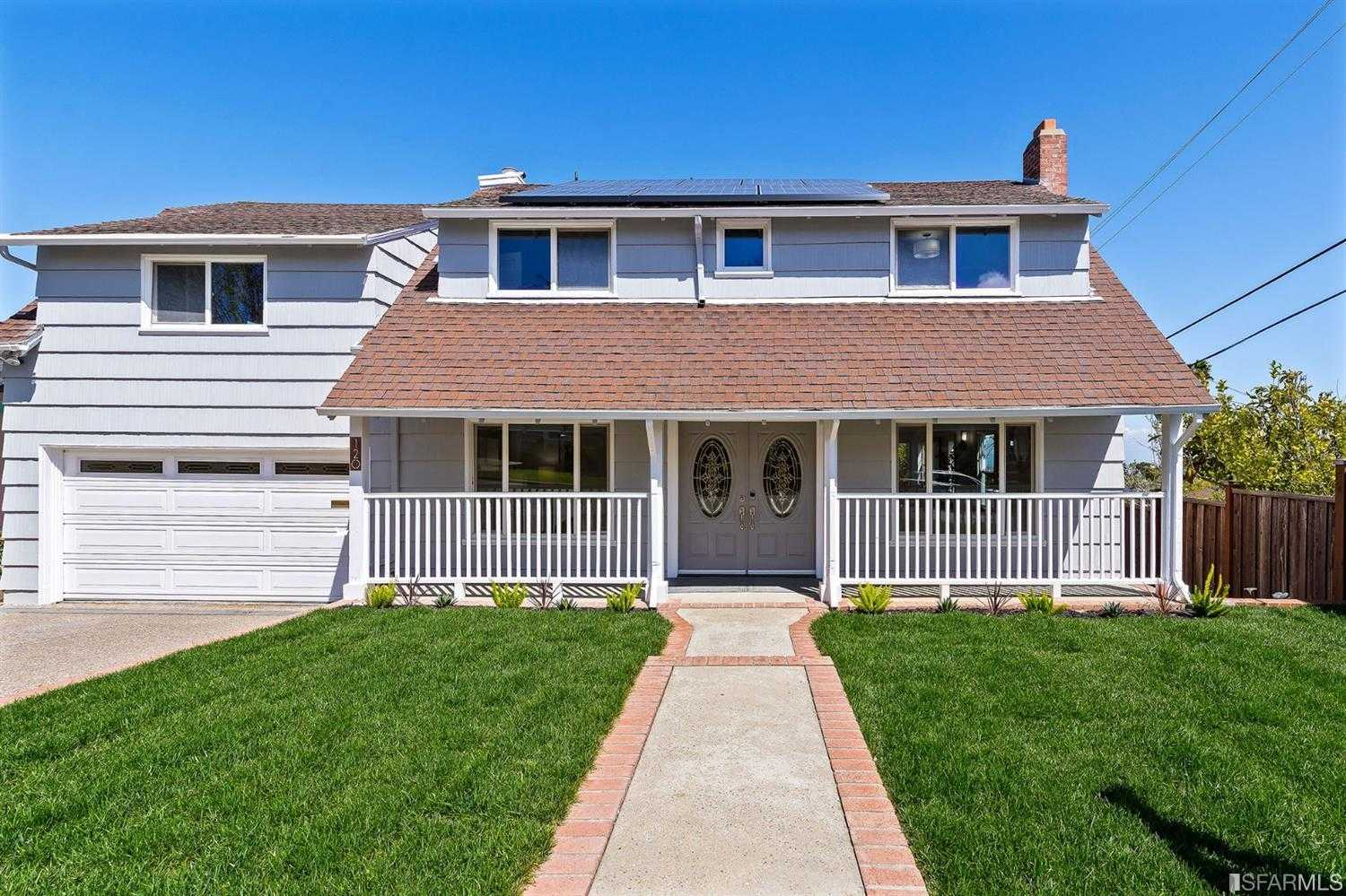 $1,888,888 - 4Br/3Ba -  for Sale in Millbrae