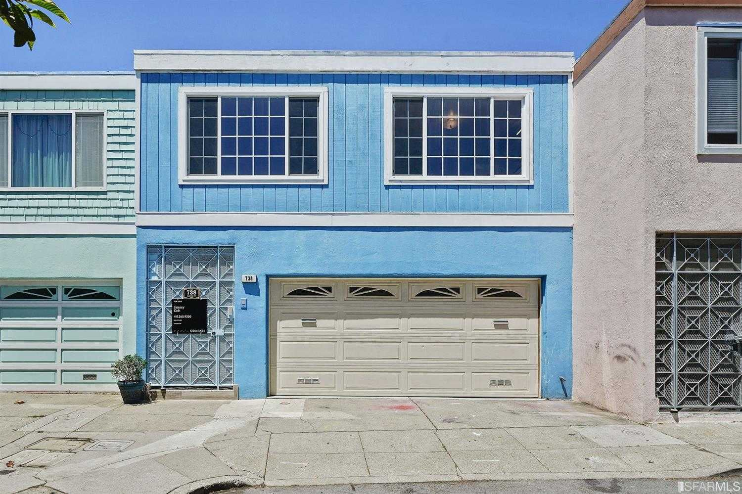 $999,000 - 3Br/2Ba -  for Sale in San Francisco