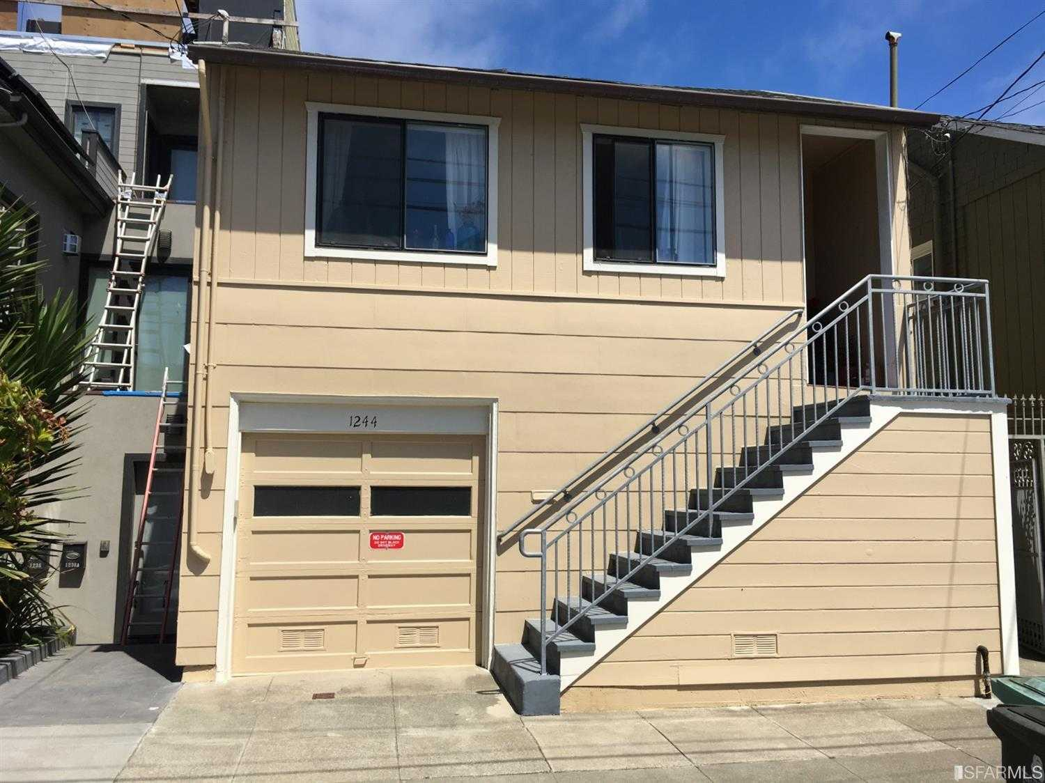 $1,100,000 - 2Br/1Ba -  for Sale in San Francisco