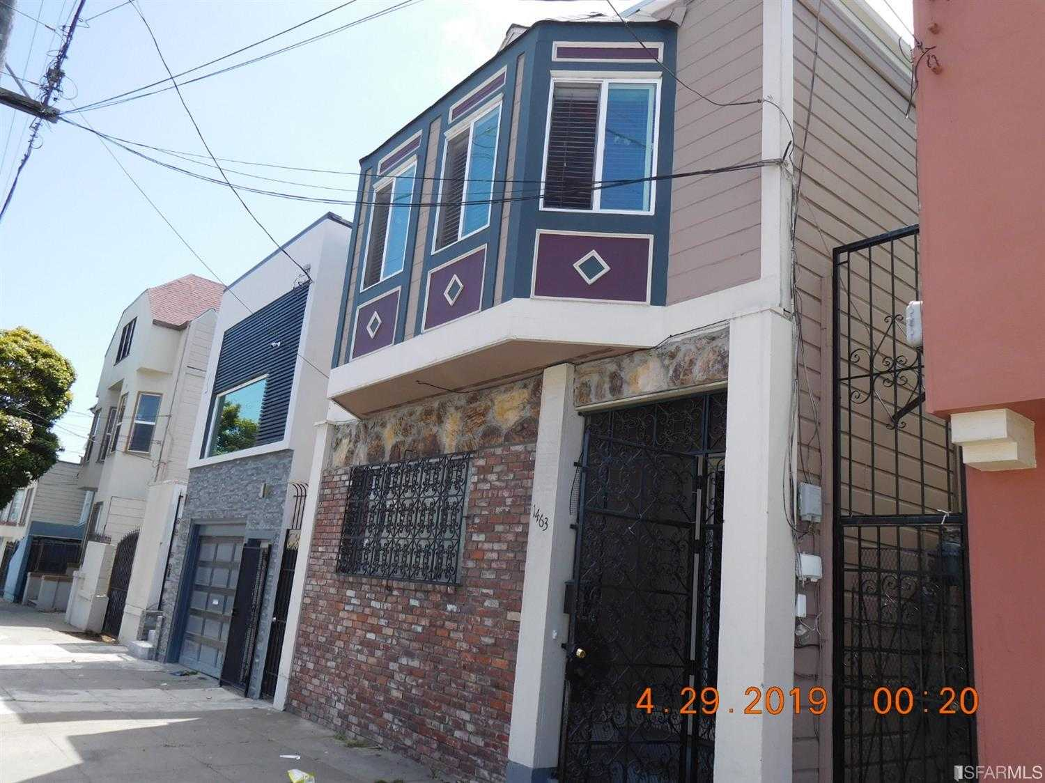 $888,000 - 2Br/1Ba -  for Sale in San Francisco