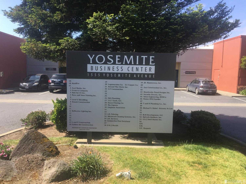 1555 Yosemite Avenue San Francisco, CA 94124
